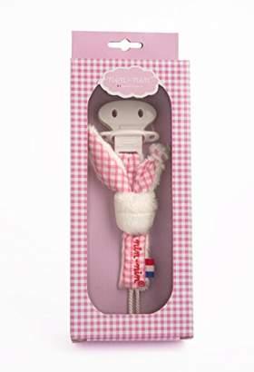 Nin-Nin Pacifier Clip (Pink)