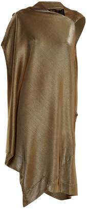 VIVIENNE WESTWOOD ANGLOMANIA Squires asymmetric draped dress