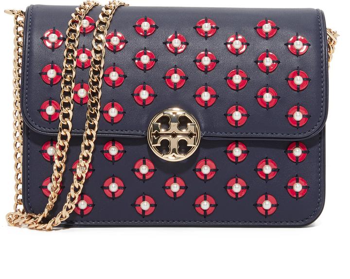 Tory BurchTory Burch Duet Chain Embellished Shoulder Bag