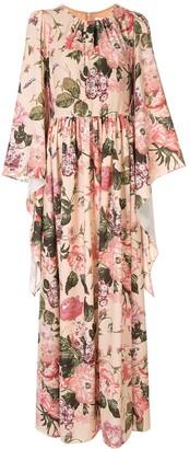 Ingie Paris floral empire dress