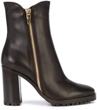 Gianvito Rossi block-heel ankle boots