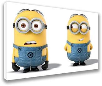 "Minions The Movie High Quality Canvas Wall Art (44x26"")"