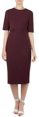 Ted Baker Maggidd Pleated-Waist Dress