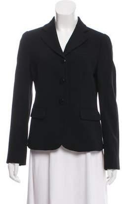 Armani Collezioni Three-Button Wool Blazer