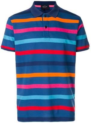 Paul & Shark striped polo top