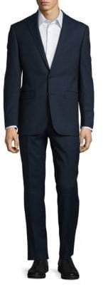 Calvin Klein Textured Wool Suit