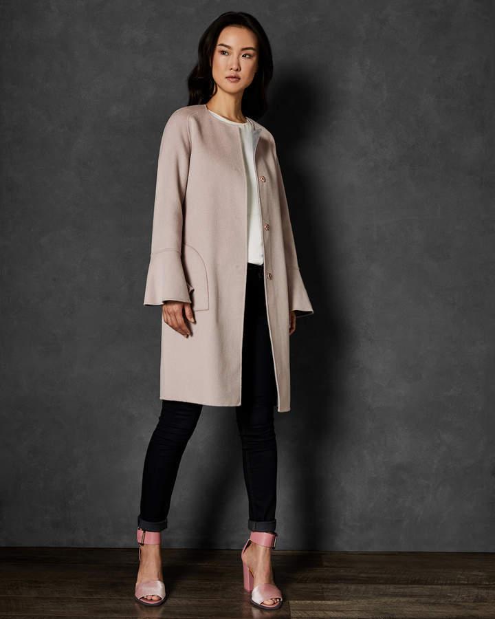 Ted Baker HEEBE Reversible wool coat