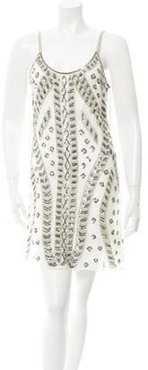 Parker Embellished Mini Dress w/ Tags $110 thestylecure.com