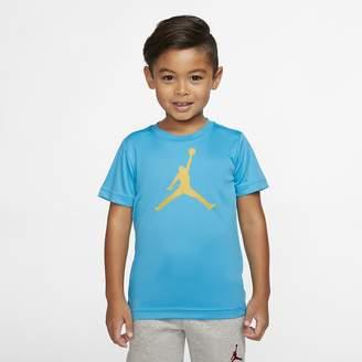 Nike Little Kids' Short-Sleeve T-Shirt Jordan Jumpman Dri-FIT