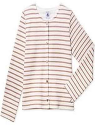 Petit Bateau Striped Cardigan