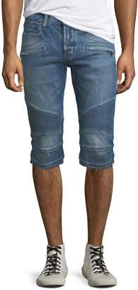 Hudson Men's The Blinder Biker Denim Shorts