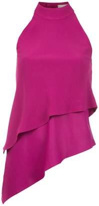 Egrey layered blouse