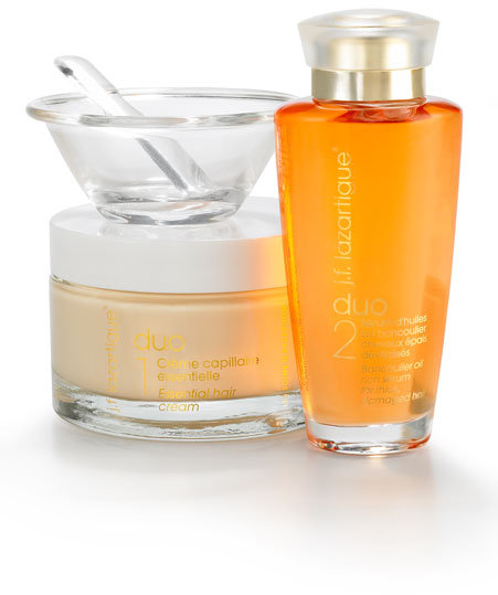 J.F. Lazartigue Home Spa Essential Duo with Bancoulier Oil