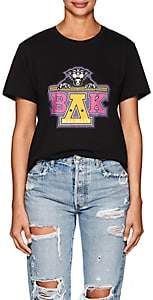 Balmain for Beyoncé Women's Unisex Cotton Jersey T-Shirt - Black