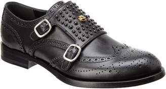 Gucci Queercore Studded Brogue Monk Shoe