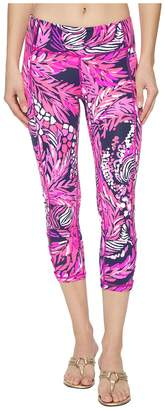 Lilly Pulitzer UPF 50+ Luxletic Weekender Cropped Legging Women's Casual Pants