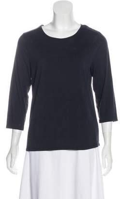 Magaschoni Silk Long Sleeve Top