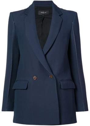 Derek Lam Blazer With Topstitch Detail