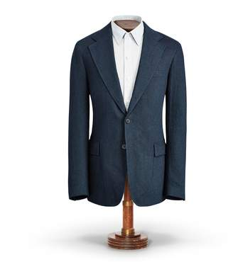 Ralph Lauren Indigo Cotton Sport Coat