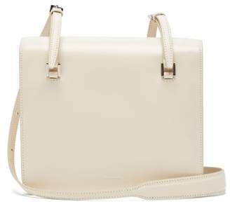 Jil Sander Small Leather Cross Body Bag - Womens - White