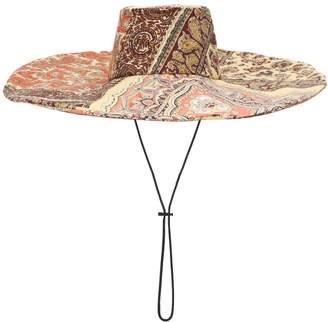 Etro Paisley-printed cotton hat
