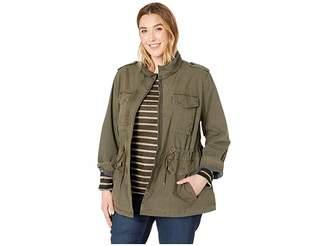Levi's Plus Size Parachute Cotton Military Jacket