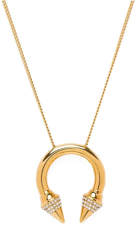Vita Fede Titan Crystal Ring Necklace