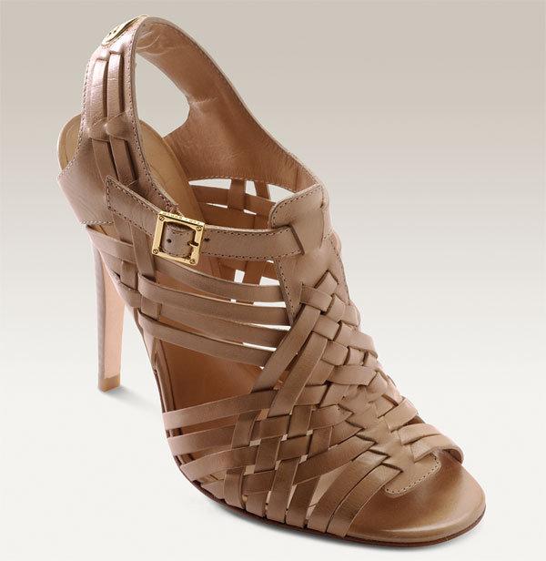 Tory Burch 'Kelton' Woven Leather Sandal