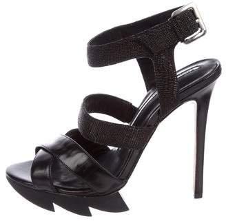 Camilla Skovgaard Leather Crossover Sandals