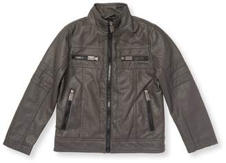 Urban Republic Kid's Perforated Motorcycle Jacket