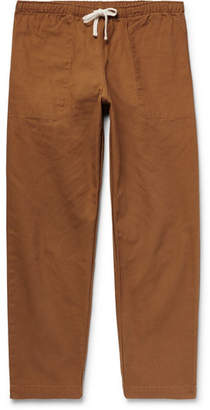 Battenwear Active Lazy Cotton-Canvas Drawstring Trousers