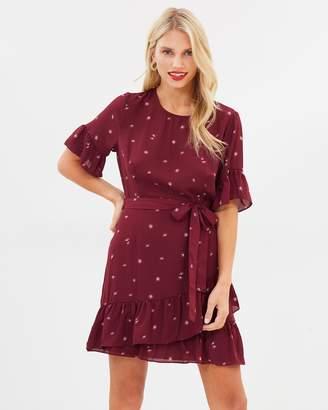 Atmos & Here ICONIC EXCLUSIVE - Nicole Ruffle Mini Dress