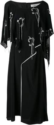 Chalayan Valance overlay loose dress