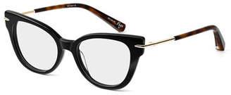 Elizabeth and James Page Cat-Eye Acetate & Metal Optical Frames