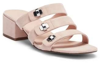 Franco Sarto Arabesque Strappy Leather Slide Sandal