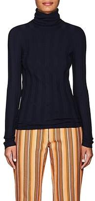 Derek Lam Women's Cashmere-Blend Turtleneck Sweater - Navy