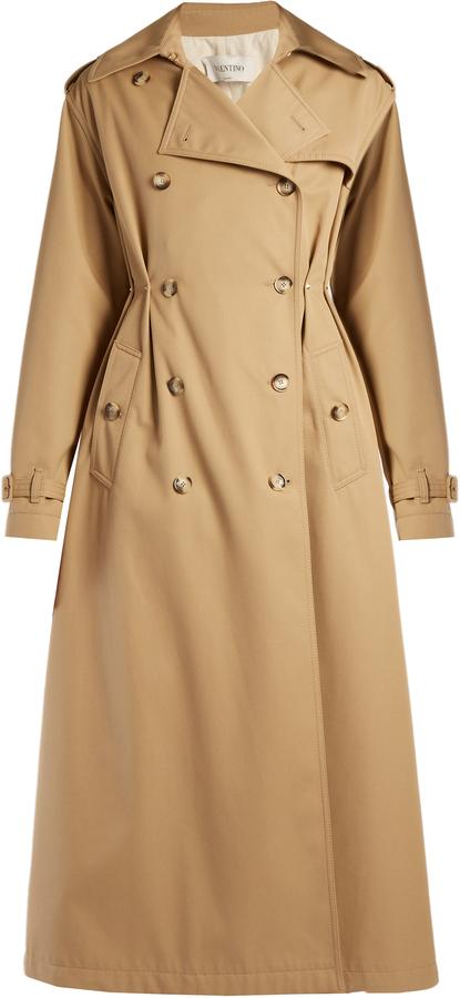 ValentinoVALENTINO Rockstud Untitled #1 gabardine trench coat