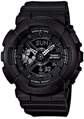 Baby-G Casio Casio Women's BA110BC-1A Rubber Quartz Watch