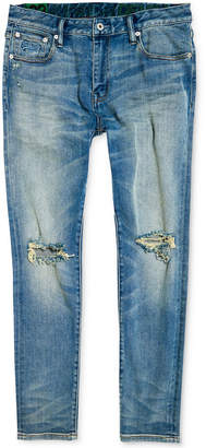Superdry Men Slim-Fit Ripped Jeans
