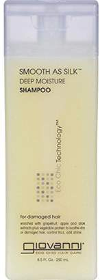 Giovanni 3 Packs of Hair Care Products Smooth As Silk Deep Moisture Shampoo