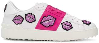 Valentino Open lips sneakers