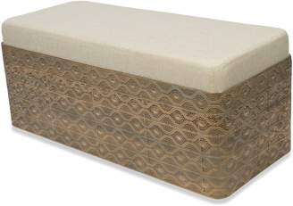 Home & Giftware Filigree Bench
