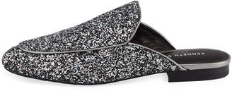 Kenneth Cole Wallice Chunky Glitter Mules