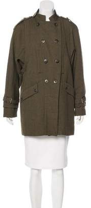 Mayle Double-Breasted Wool Coat