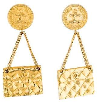 Chanel 31 Rue Cambon Flap Bag Drop Earring