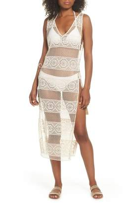 Pilyq Joy Lace Cover-Up Dress