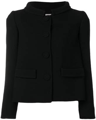 L'Autre Chose high collar fitted jacket