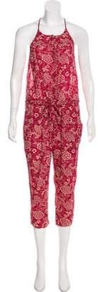 Etoile Isabel Marant Sleeveless Floral Jumpsuit
