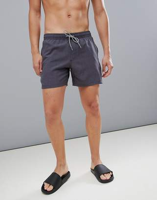 Protest Dave Swim Shorts 16 Inch in Black