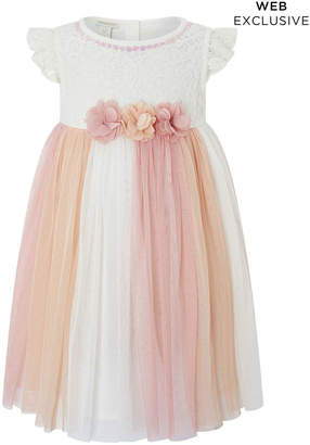 Monsoon Baby Peony Lace Dress